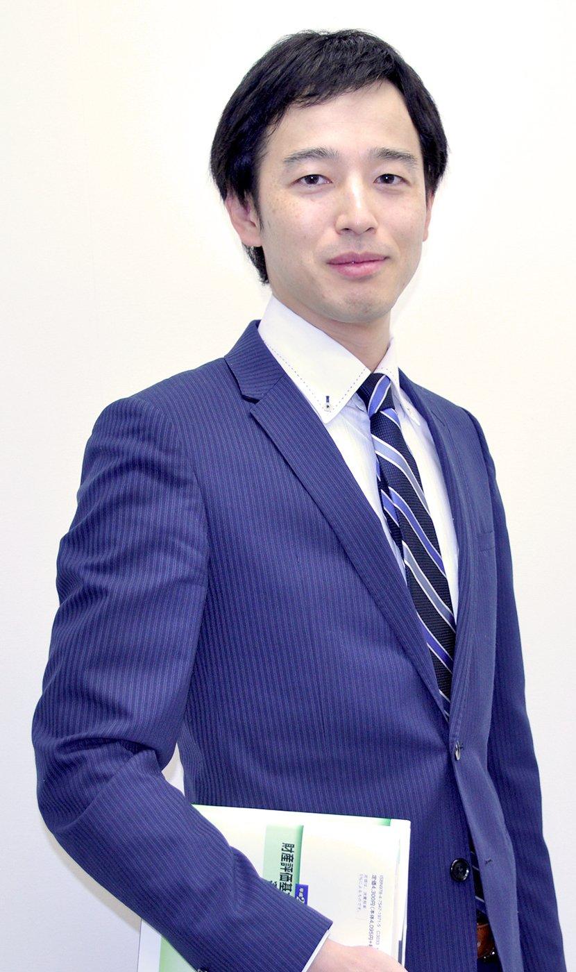 代表税理士 荻巣 勇人(おぎす はやと)